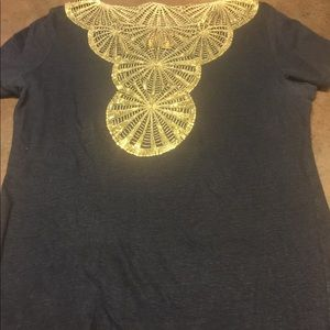 Tory burch top size small excellent condition